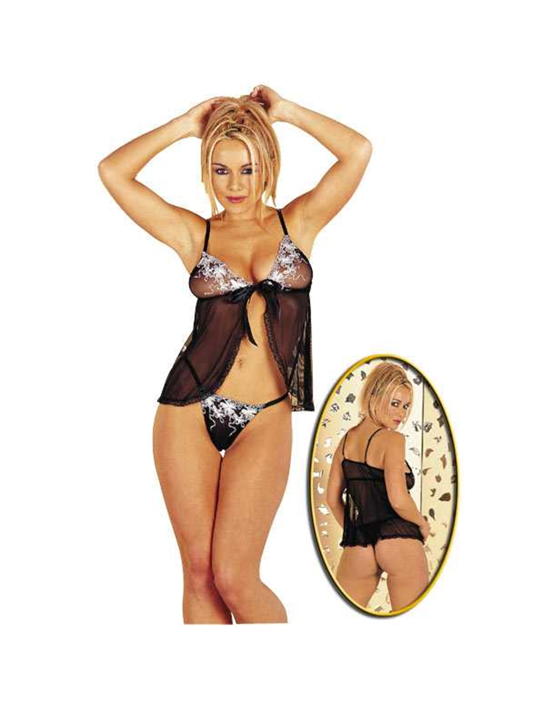 Babydoll Bordado S/M - MM208582