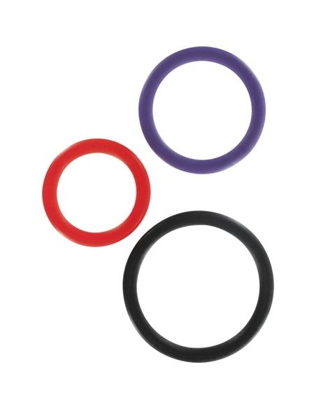 Anéis Multicolor Triple - PR2010299430