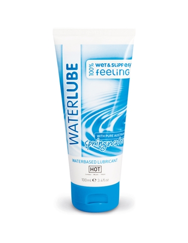Lubrificante Com Água Da Nascente Hot Waterlube - 100ml - PR2010318863