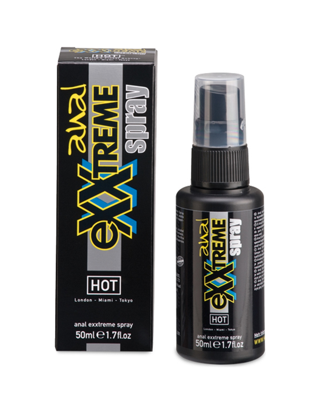 Spray Anestesiante Anal Hot Anal Exxtreme - 50ml - PR2010299875