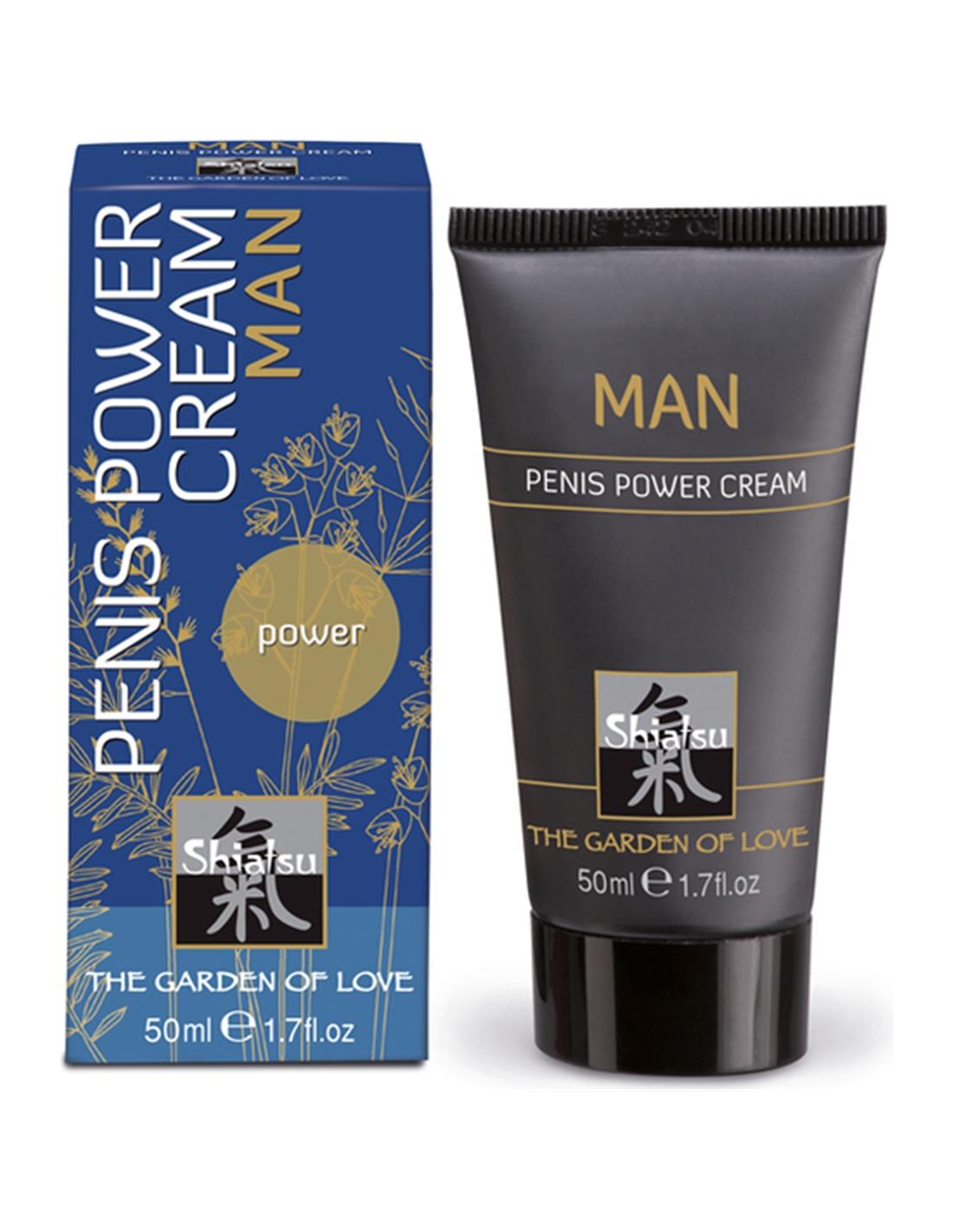 Creme Estimulante Masculino Shiatsu Penis Power Cream - 50ml - PR2010299963