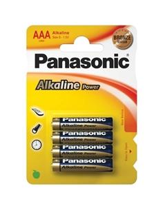 4 Pilhas Aaa Alcalinas Panasonic - PR2010319358