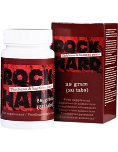 Cápsulas Estimulantes Rock Hard - PR2010301697