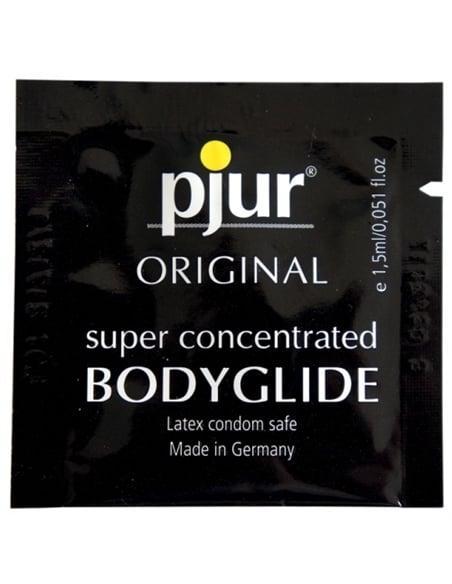 Lubrificante À Base De Silicone Pjur Original Bodygli - 1,5ml - PR2010320029