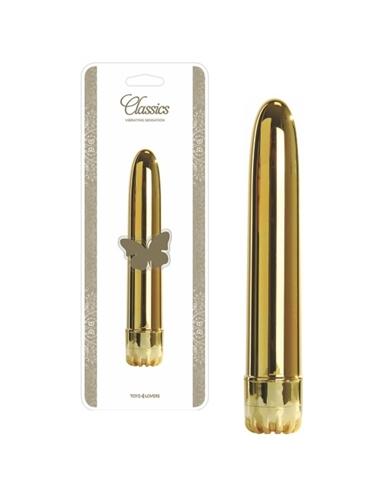 Vibrador Classics Dourado Grande - PR2010322083