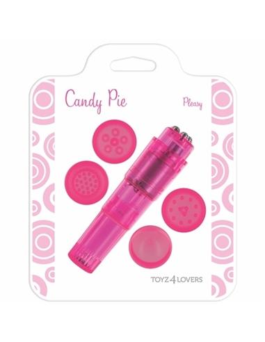 Vibrador Candy Pie Pleasy Rosa - PR2010322201
