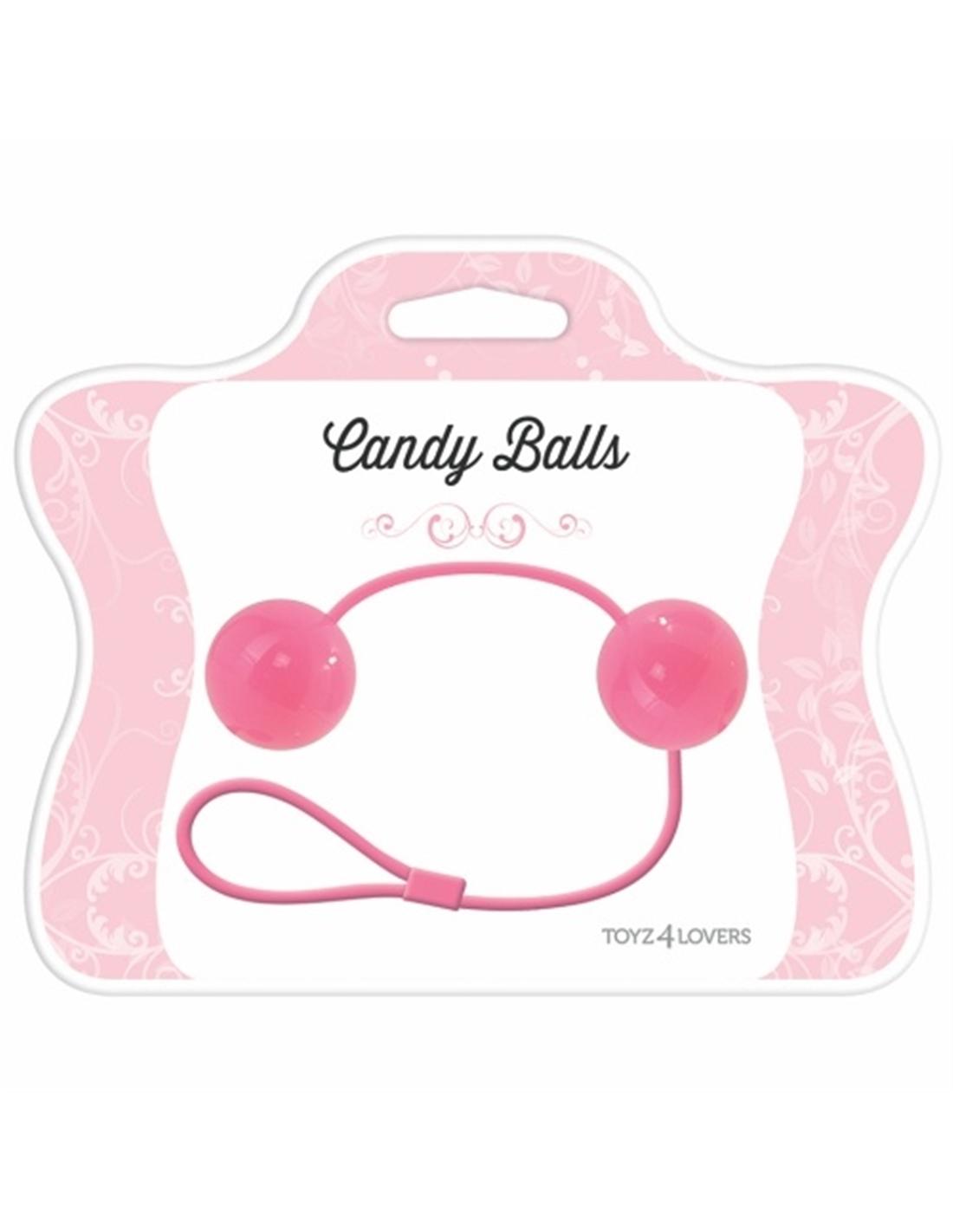 Bolas Vaginais Candy Balls Rosa - PR2010322204