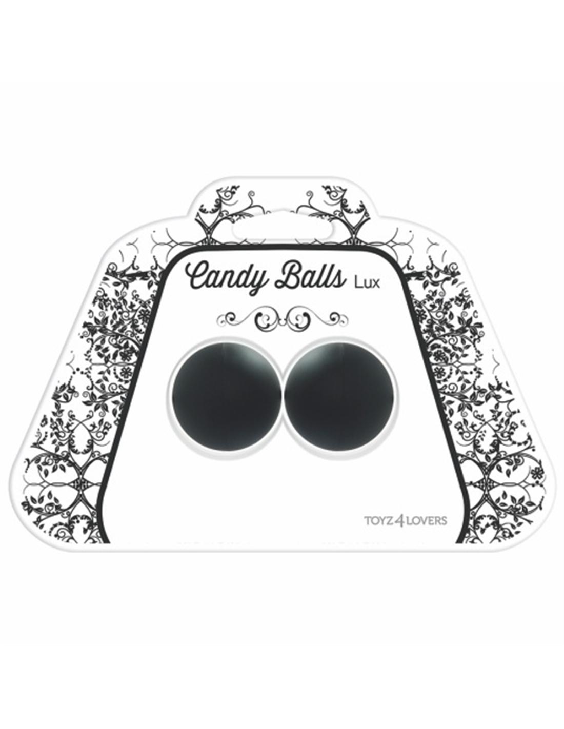 Bolas Vaginais Candy Balls Lux Pretas - PR2010322206