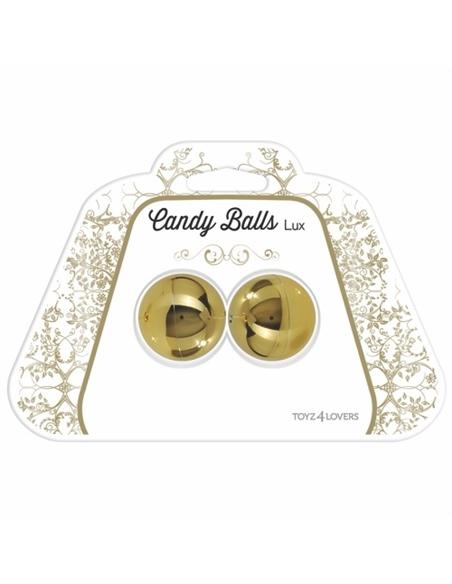 Bolas Vaginais Candy Balls Lux Douradas - PR2010322210