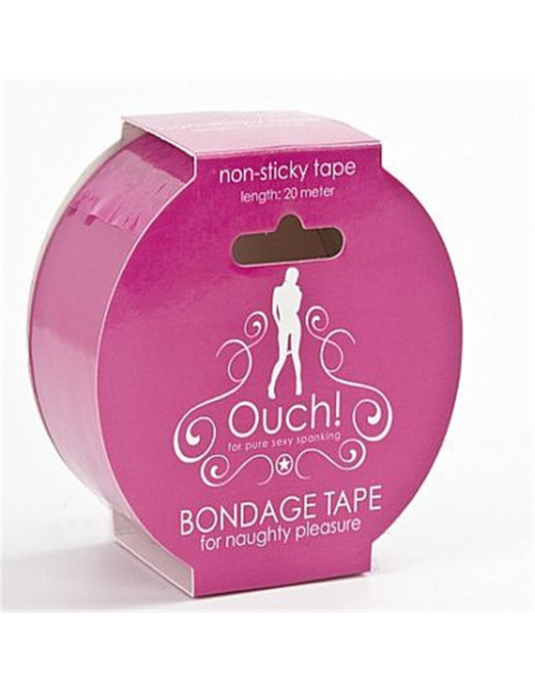Fita Ouch! Bondage Tape Rosa - PR2010303458