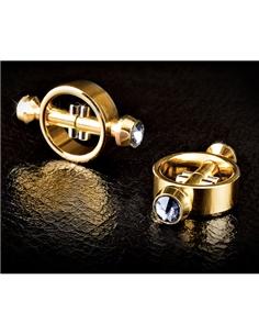 Pinças Magnéticas Para Os Mamilos Fetish Fantasy Gold Magne - PR2010321929