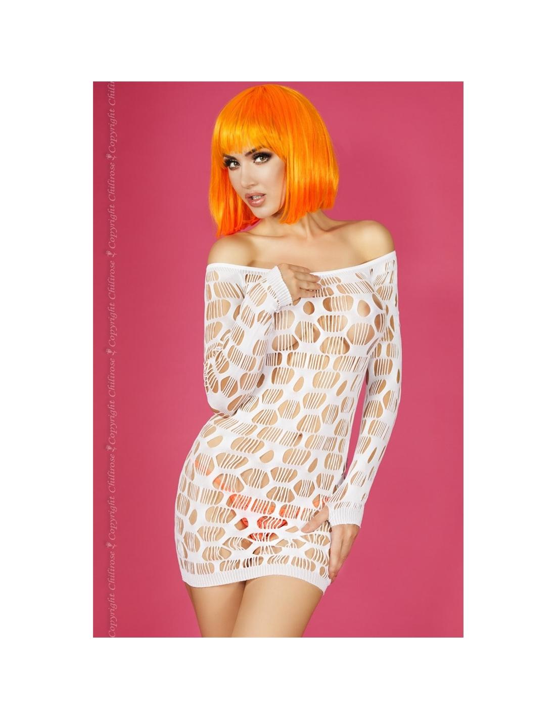 Vestido Cr-3380 Branco - 36-38 S/M - PR2010323633