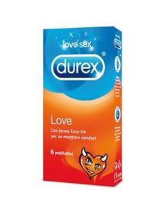 Preservativos Durex Love - 6 Unidades - PR2010322705