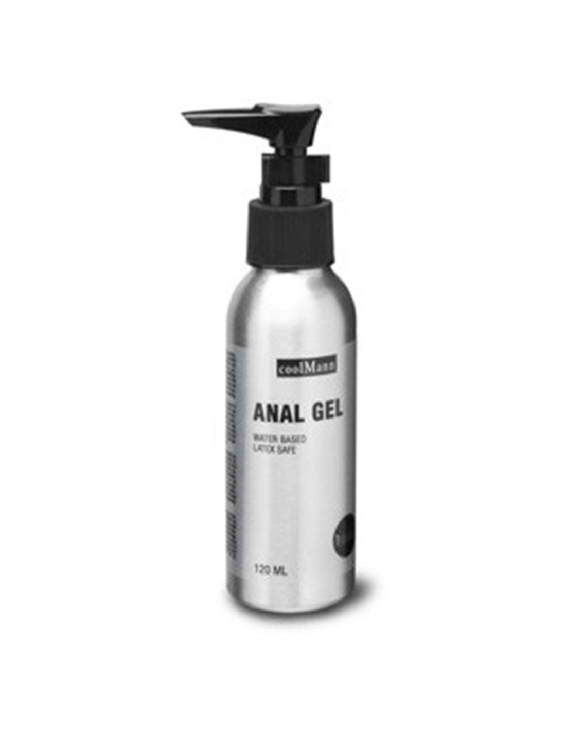 Lubrificante À Base De Água Coolmann Anal Gel - 150ml - PR2010314320