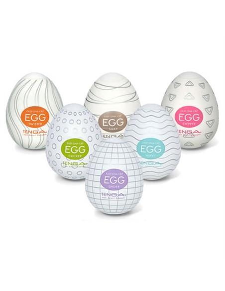 Caixa Com 6 Masturbadores Tenga Egg 6 Colors Package - PR2010318915