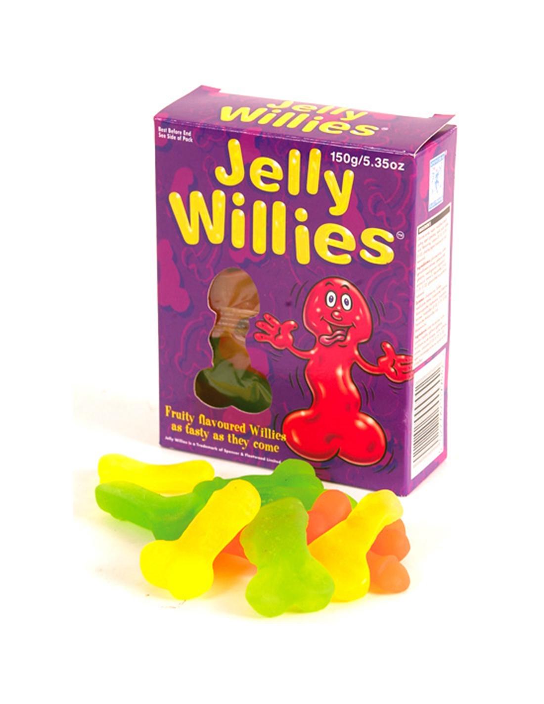 Gomas Em Forma De Pénis Jelly Willies - PR2010302586