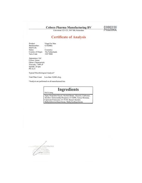 Gel Estimulante Para O Pénis Viagel For Men - PR2010300466