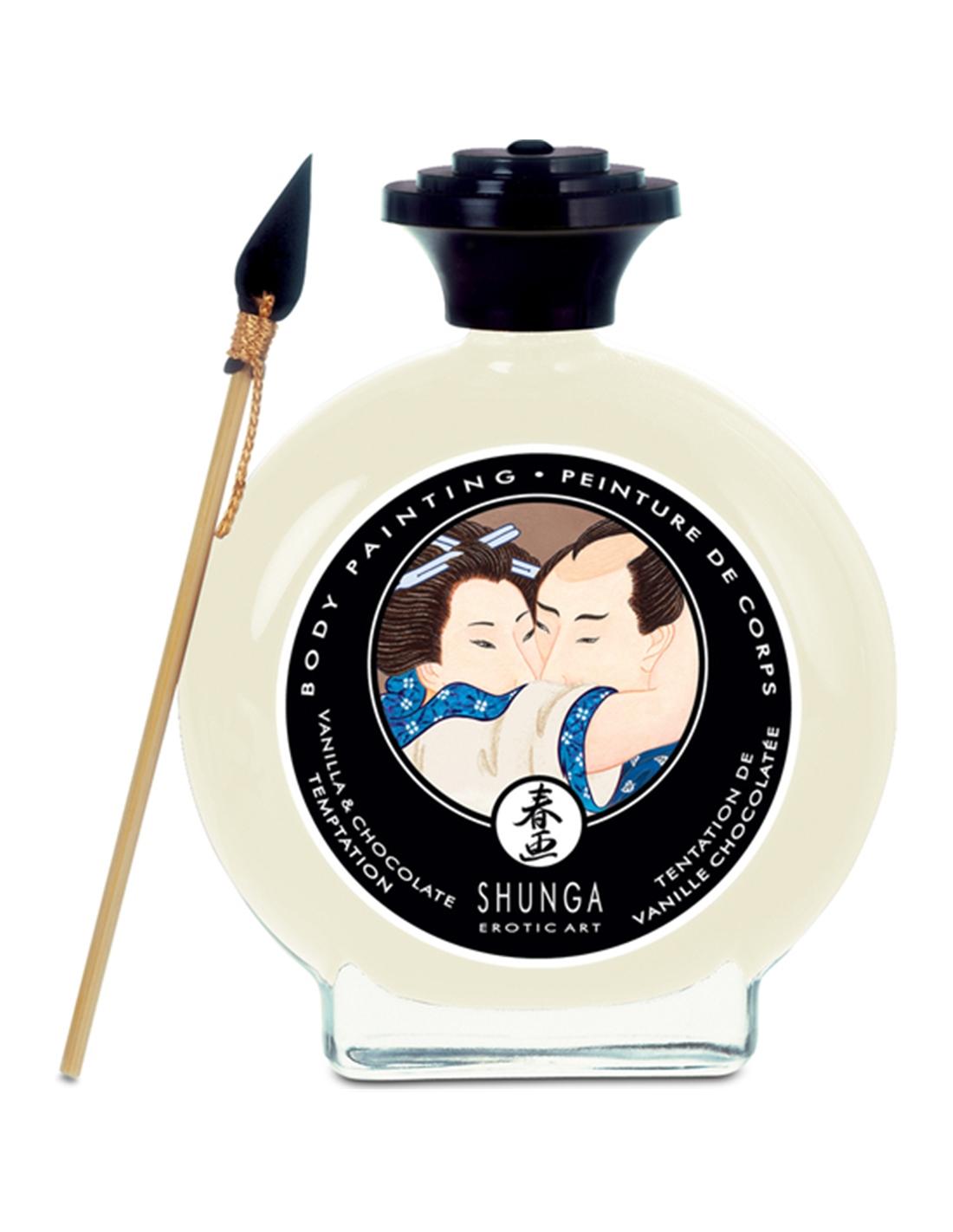 Tinta Corporal Shunga Chocolate Branco - 100ml - PR2010301198