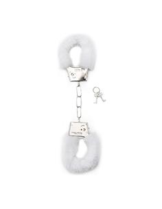 Algemas Com Peluche Furry Handcuffs Brancas - PR2010328659