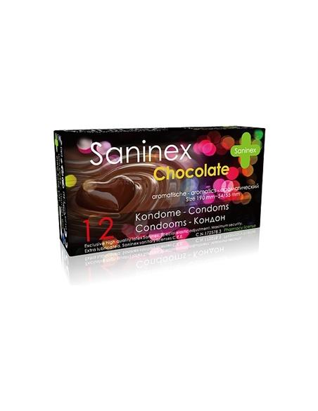 Saninex Preservativos Chocolate 12Uds - PR2010345097