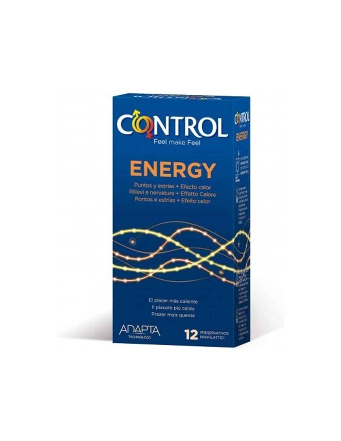 57162 - Preservativos Control Energy 12 Unidades-PR2010348135