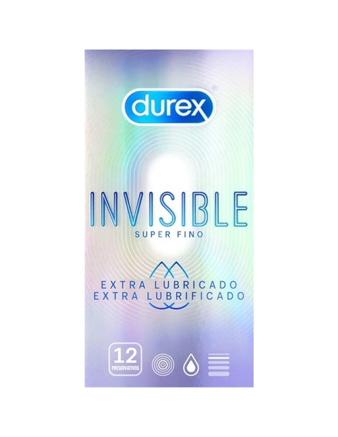 21813 - Durex Invisible Extra Fino Extra Lubrificado 12 Un-PR2010338781