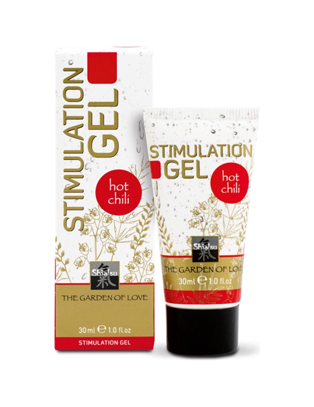 18431 - Gel Estimulante Shiatsu Stimulation Gel Hot Chili - 30ml-PR2010301939