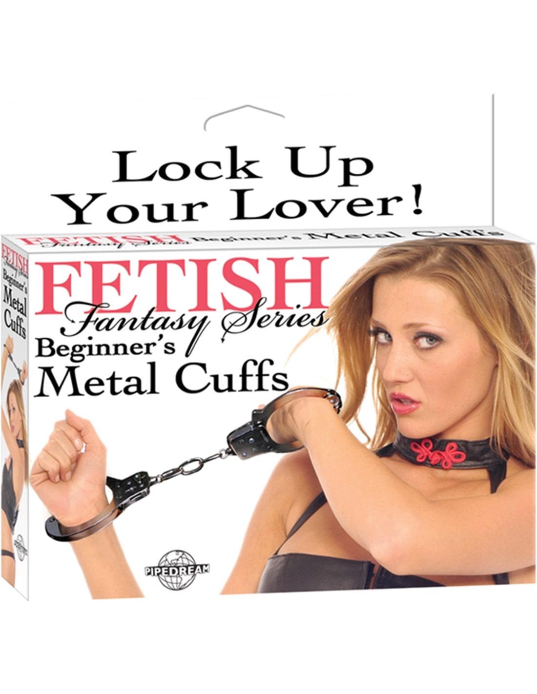 Algemas Em Metal para Principiantes Fetish Fantasy Series - Prateado - PR2010311755