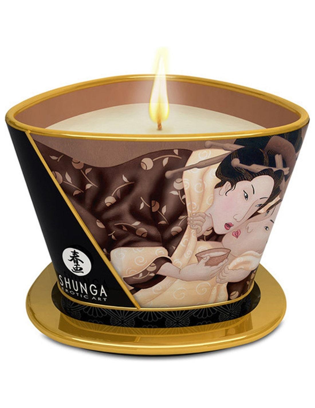 Vela de Massagem Shunga Desire Baunilha Fetish - 170ml - PR2010300305