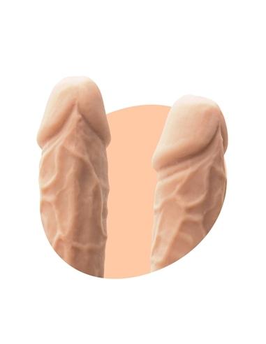 Dildo Premium Silicone Tessudo 8,5' Baunilha Crushious #6 - PR2010354735